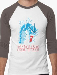 Evolve into a GOD Men's Baseball ¾ T-Shirt
