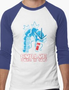 Evolve into a GOD Men's Baseball ¾ T-Shirt