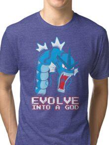 Evolve into a GOD Tri-blend T-Shirt