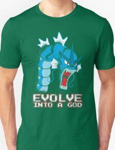 Evolve into a GOD Unisex T-Shirt