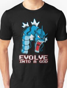 Evolve into a GOD Unisex T-Shirt