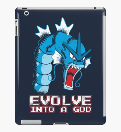 Evolve into a GOD iPad Case/Skin