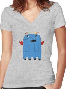 The Monster Women's Fitted V-Neck T-Shirt
