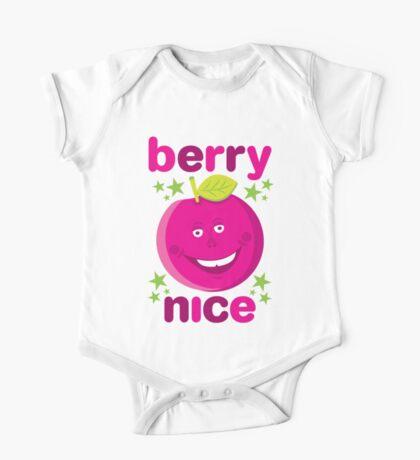 Berry Nice in dark pink One Piece - Short Sleeve