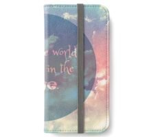 Look The World iPhone Wallet/Case/Skin