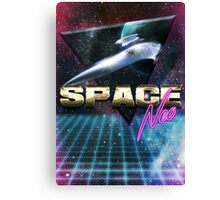 Space Neo Canvas Print