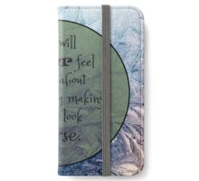 Feel Good iPhone Wallet/Case/Skin