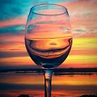 Sunset in a Glass by Jamie Lee