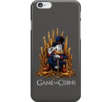 game of coins iPhone Case/Skin