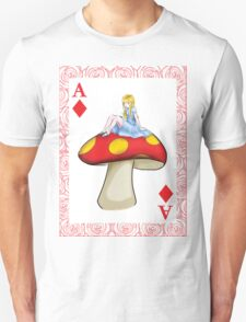 Alice's Playing Card in Wonderland Unisex T-Shirt