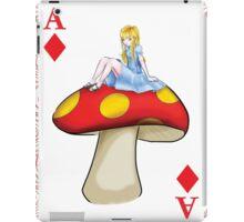 Alice's Playing Card in Wonderland iPad Case/Skin