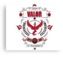 Valor Canvas Print