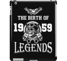 1959-THE BIRTH OF LEGENDS iPad Case/Skin