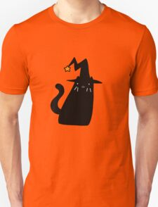 Witch Black Cat Unisex T-Shirt