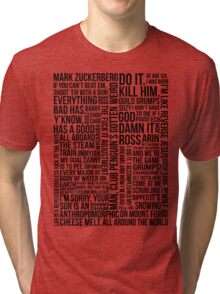 Game Grumps Quotes Tri-blend T-Shirt