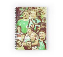 Neuer and Muller - German Football Spiral Notebook