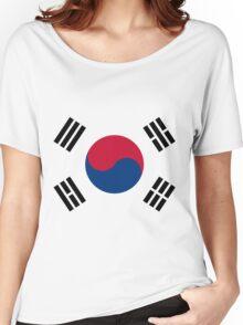 Living Korea Flag Women's Relaxed Fit T-Shirt