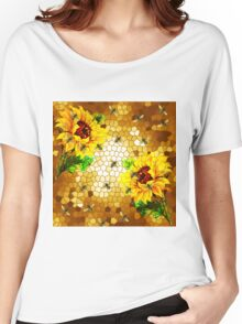 FROM THE FLOWER TO THE HIVE Women's Relaxed Fit T-Shirt