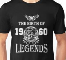 1960-THE BIRTH OF LEGENDS Unisex T-Shirt