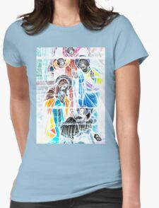 Nativity in Colors Womens Fitted T-Shirt