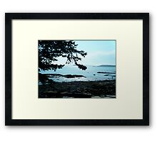 Maine Framed Print