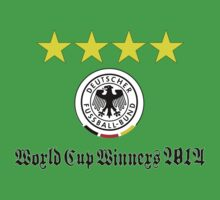 Germany World Cup Winners 2014 One Piece - Short Sleeve