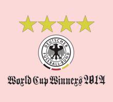 Germany World Cup Winners 2014 Kids Tee