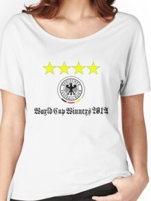Germany World Cup Winners 2014 Women's Relaxed Fit T-Shirt