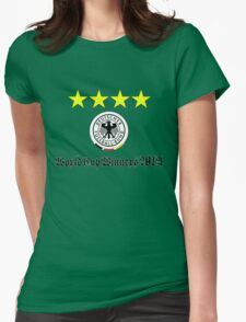 Germany World Cup Winners 2014 Womens Fitted T-Shirt