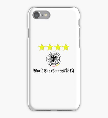 Germany World Cup Winners 2014 iPhone Case/Skin