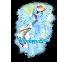 The best pony-rainbow dash Photographic Print