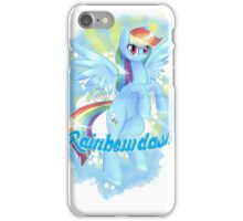 The best pony-rainbow dash iPhone Case/Skin