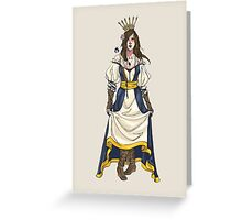 I am Queen Greeting Card