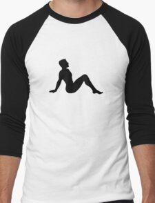Mudflap Man Men's Baseball ¾ T-Shirt