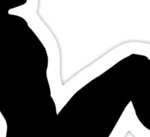 Mudflap Man Sticker