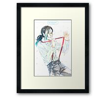 JEONGHAN - VERY NICE Framed Print