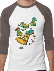 Pizza Lover Men's Baseball ¾ T-Shirt