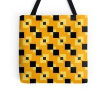 Square Pattern Designs: Bumblebee Tote Bag