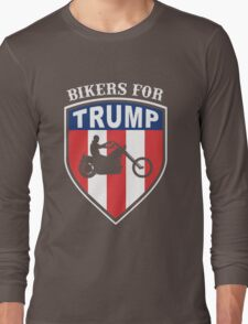 Bikers for Trump 2016 Long Sleeve T-Shirt