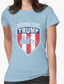 Bikers for Trump 2016 Womens Fitted T-Shirt