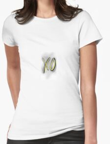 The weeknd - XO Womens Fitted T-Shirt