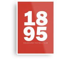 1895 - SHELBOURNE FOOTBALL CLUB - PRINT Metal Print