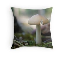 Brownsea Mushroom Throw Pillow