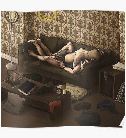 Lazy Afternoon at 221b Poster