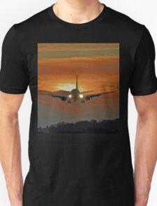 landing at sunset T-Shirt