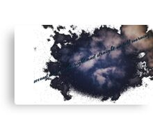 Second Star to the Right Canvas Print