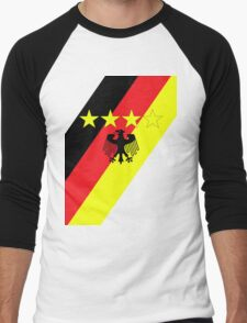 German 4 Stars Men's Baseball ¾ T-Shirt