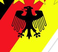 German 4 Stars Sticker
