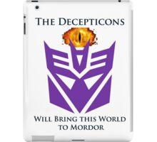 Decipticon eye of Mordor iPad Case/Skin