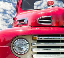 Classic Red Truck by Maria Dryfhout